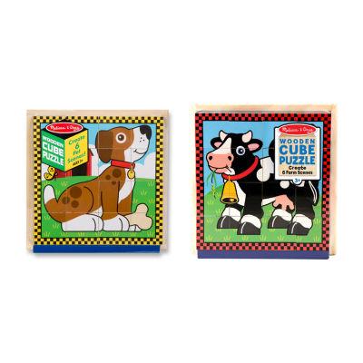 Melissa & Doug® Cube Puzzle Combo