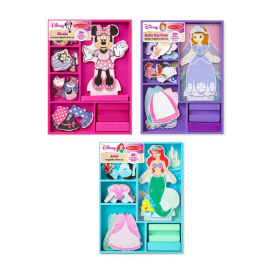 Melissa & Doug®Disney Magnetic Dress Up Bundle