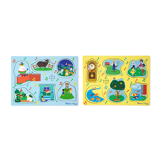 Melissa & Doug® Nursery Rhyme Sound Puzzle Bundle
