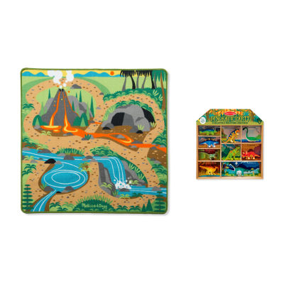 Melissa & Doug® Prehistoric Rug Play Bundle