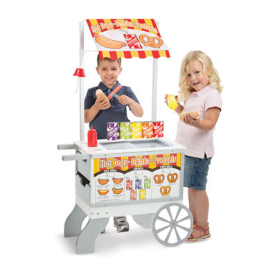 Melissa & Doug®Let's Play Snack & Sweet Cart