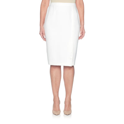Alfred Dunner Roman Holiday Pencil Skirt-Petites