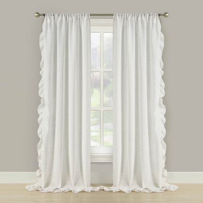 Bella Valenti Prairie 2-Pack Rod-Pocket Curtain Panel
