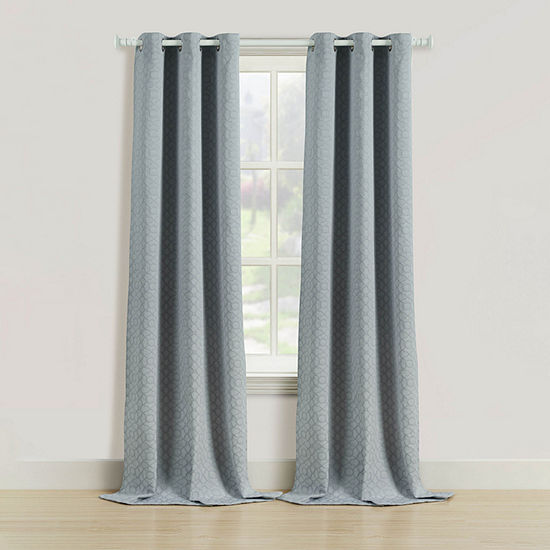 Bella Valenti Rutland Light-Filtering Rod-Pocket Curtain Panel