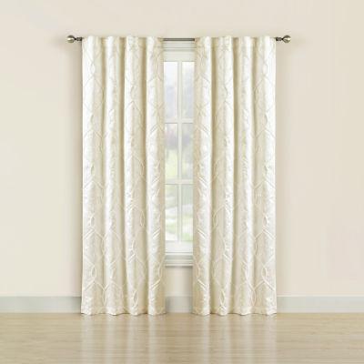Bella Valenti Rivera 2-Pack Back-Tab Curtain Panel