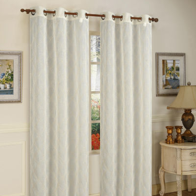 Conrad 2-Pack Grommet-Top Curtain Panel