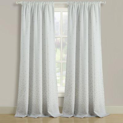 Dotty Multi-Pack Rod-Pocket Curtain Panel