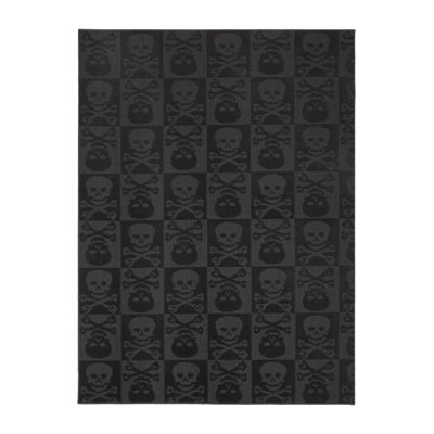 Garland Rug Skulls Rectangular Area Rug