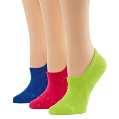 Xersion 3 Pair Knit Liner Socks - Womens