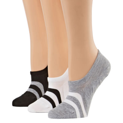 Xersion 3 Pair Knit Liner Socks - Womens