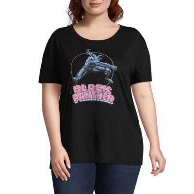 Black Panther Tee - Juniors Plus
