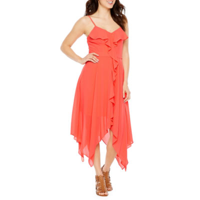 Premier Amour Sleeveless Fit & Flare Dress