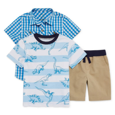 Okie Dokie 3-pc. Short Set Toddler Boys