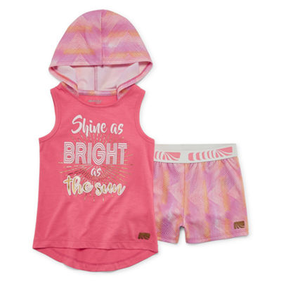 Marika 2-pc. Short Set Toddler Girls