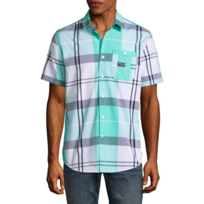 Parish Short Sleeve Button-Front Shirt