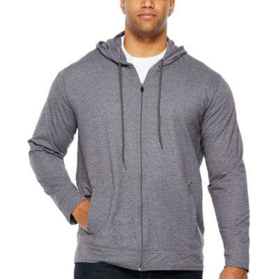 The Foundry Big & Tall Supply Co. Long Sleeve Jacquard Hoodie-Big and Tall