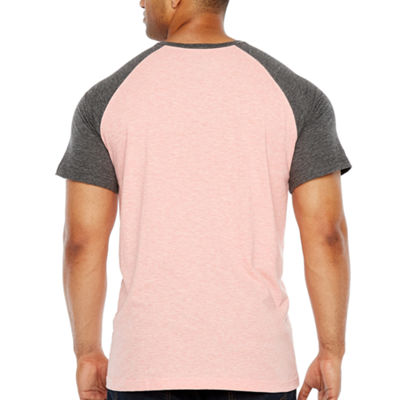 The Foundry Big & Tall Supply Co. Short Sleeve Henley Shirt-Big and Tall