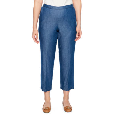 Alfred Dunner Sun City Classic Fit Slim Pants-Petites