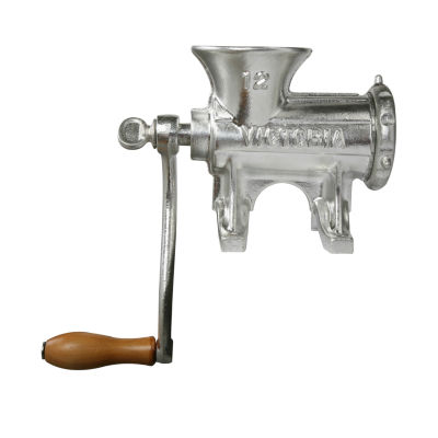 Victoria Cast Iron Meat Grinder with Table Mount