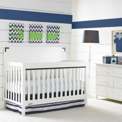 Fisher-Price Paxton Baby Crib - White