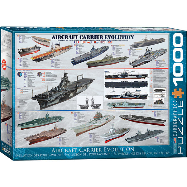 EuroGraphics History of Canadian Aviation 1000-Piece Puzzle