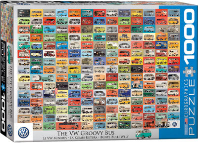EuroGraphics Dodge Advertising Collection 1000-Piece Puzzle