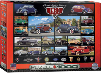 EuroGraphics 1937 Chevy Pick-up American Farmer 1000-Piece Puzzle