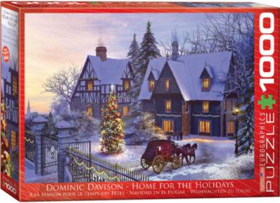 EuroGraphics Christmas Eve in Paris by Dominic Davison 1000-Piece Puzzle