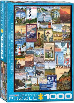 EuroGraphics Bières de la Meuse by Alphonse MariaMucha 1000-Piece Puzzle