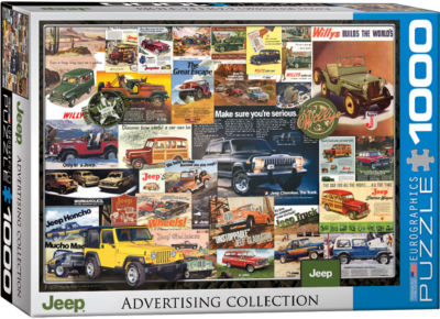 EuroGraphics American Cars of the 1960s 1000-PiecePuzzle