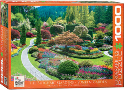 EuroGraphics Globetrotter Canada 1000-Piece Puzzle
