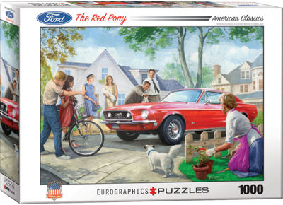EuroGraphics Driving Home for Christmas by DominicDavison 1000-Piece Puzzle