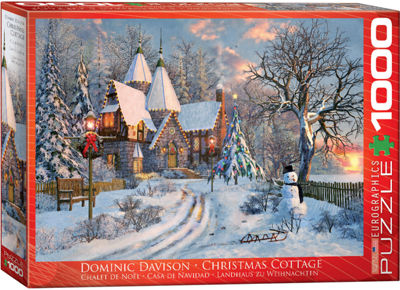 EuroGraphics Christmas Eve In London by Dominic Davison 1000-Piece Puzzle