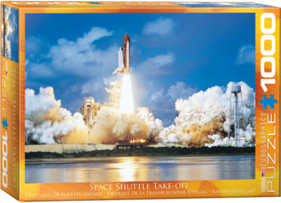 EuroGraphics International Space Rockets 1000-Piece Puzzle