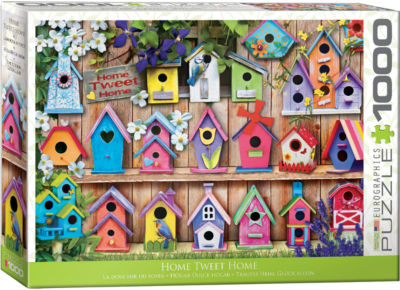 Eurographics Home Tweet Home 1000-PiecePuzzle