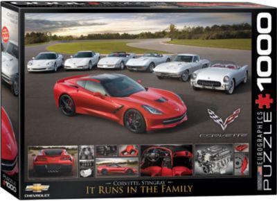 EuroGraphics Chevrolet The Camaro Evolution 1000-Piece Puzzle