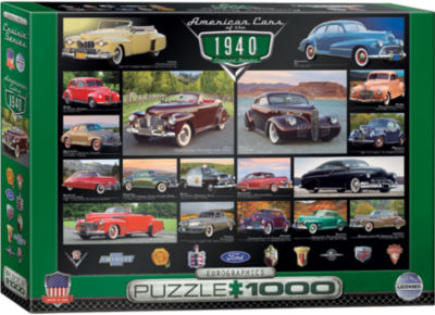 EuroGraphics 1954 Ford F-100 Heritage Ranch 1000-Piece Puzzle