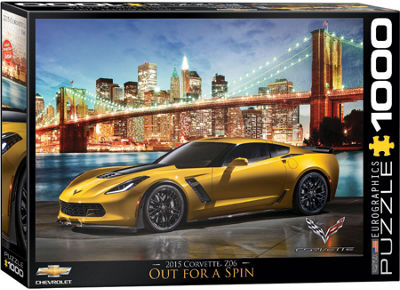 EuroGraphics 2014 Corvette Stingray It Runs in theFamily 1000-Piece Puzzle