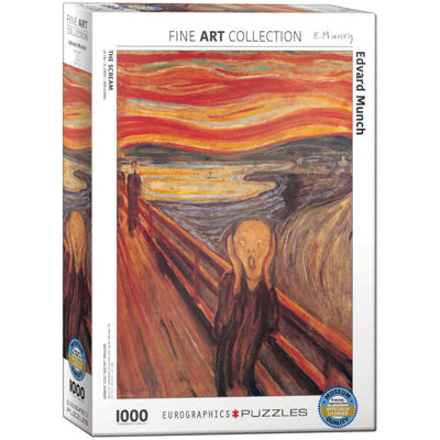 EuroGraphics Bedroom in Arles (Third Version) by Vincent van Gogh 1000-Piece Puzzle