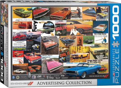 EuroGraphics American Cars of the 1940s 1000-PiecePuzzle
