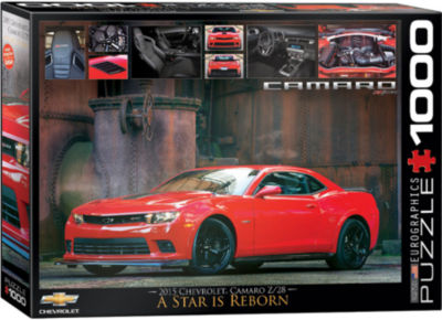 EuroGraphics Ford Mustang Evolution 1000-Piece Puzzle