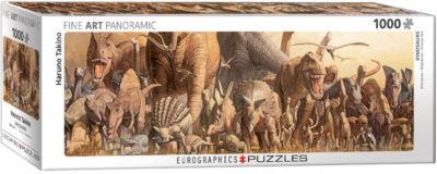 EuroGraphics Dinosaurs by Haruo Takino 1000-PiecePuzzle