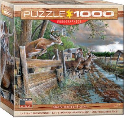EuroGraphics Elephant & Baby 1000-Piece Puzzle