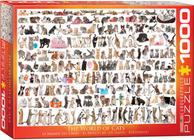 EuroGraphics Holiday Dogs 1000-Piece Puzzle
