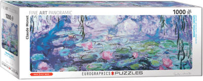 EuroGraphics Irises (Detail) by Claude Monet 1000-Piece Puzzle
