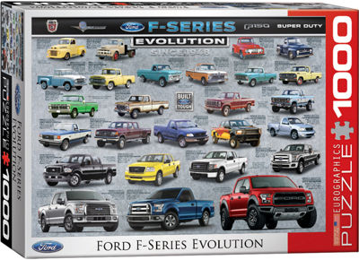 EuroGraphics American Cars 1000-Piece Puzzle