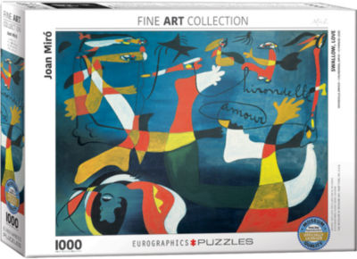 EuroGraphics 50 Abstract Paintings by Salvador Dalí 1000-Piece Puzzle