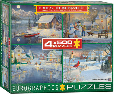 EuroGraphics Holiday Lights by Dominic Davison 1000-Piece Puzzle