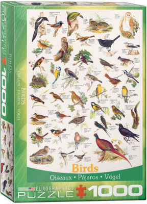 EuroGraphics Birds of Prey and Owls 1000-Piece Puzzle