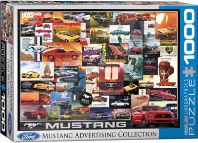 EuroGraphics 2015 Ford Mustang GT Fifty Years of Power 1000-Piece Puzzle